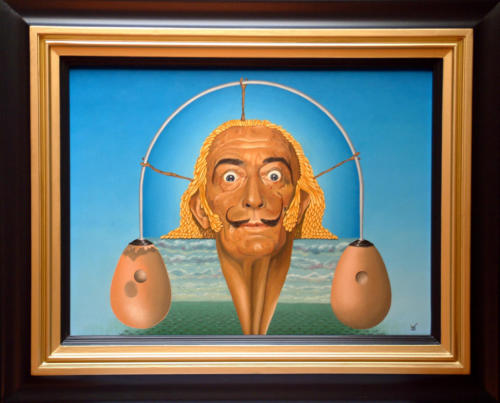 Dali   1989 ( 60x80 cm )
