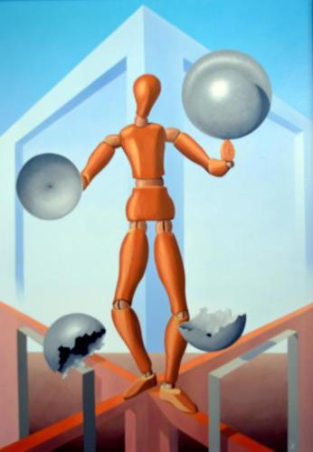 Balans   1999 ( 85x60 cm )/Balance   1999 ( 85x60 cm )